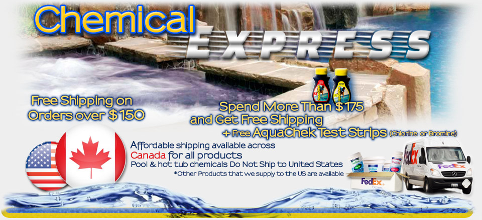 Pool and Hot Tub Chemical Delivery across North America
